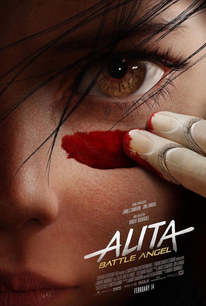 alita anjo de combate poster 691x1024 - Alita: Battle Angel - Novo pôster mostra os principais atores do filme
