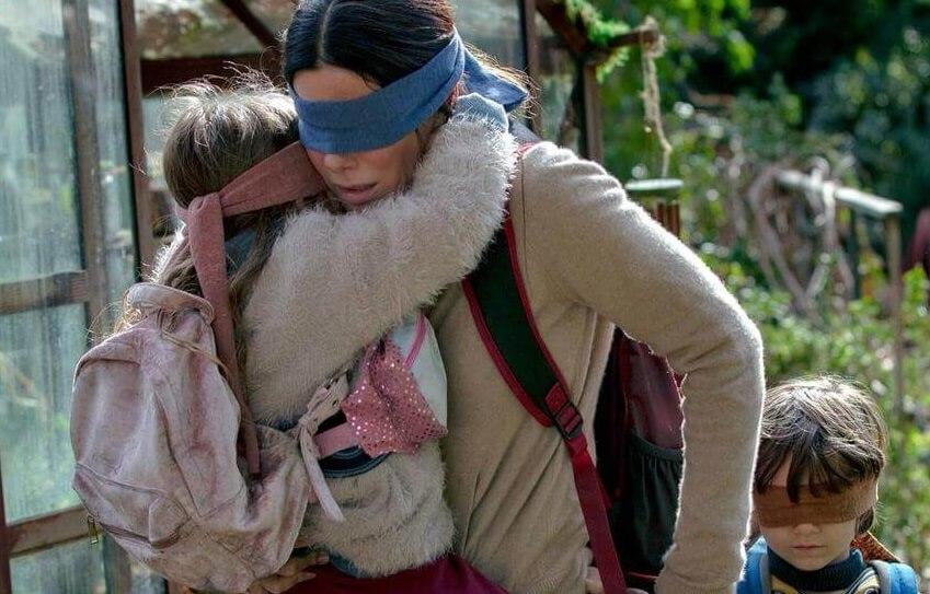 Bird Box (Caixa de Pássaros) com Sandra Bullock