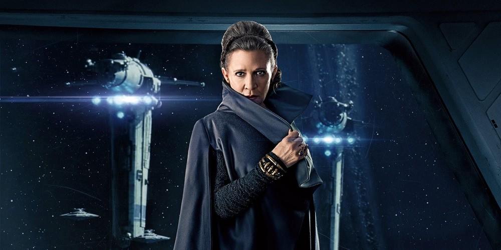 Carrie Fisher em Star Wars IX