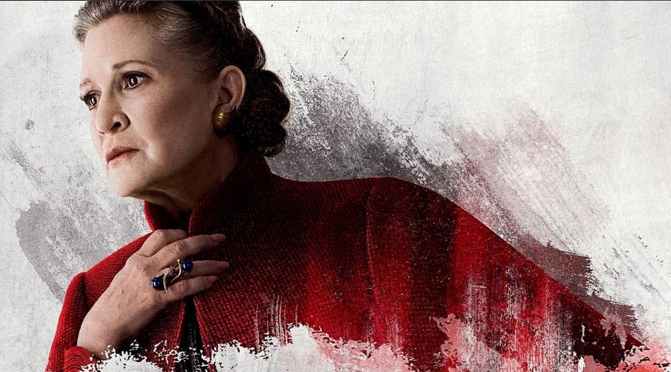 Carrie Fisher irá aparecer em Star Wars IX
