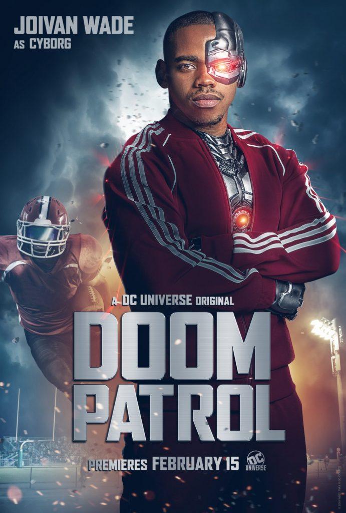 doompatrol cyborg 691x1024 - Patrulha do Destino - Revelado o primeiro teaser da série