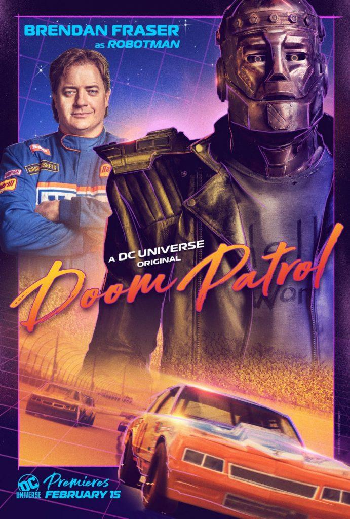 doompatrol homem robot 691x1024 - Patrulha do Destino - Revelado o primeiro teaser da série