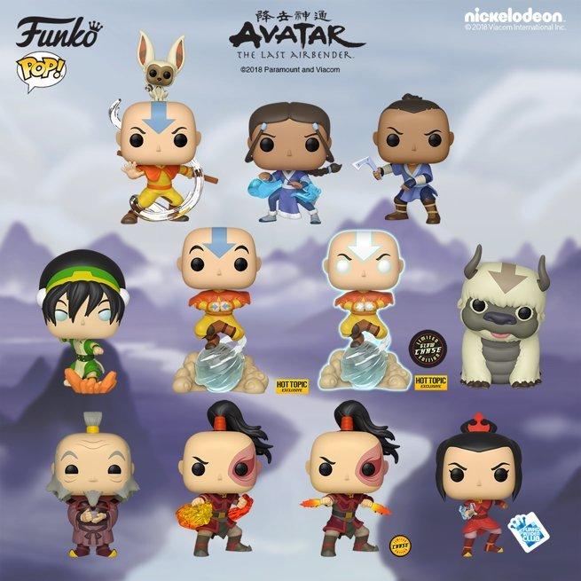Você não precisa dominar os quatro elementos para ter esse Funko POP!s de Avatar: A Lenda de Aang