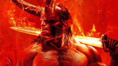 David Harbour divulga novo postêr de Hellboy e anuncia data do trailer