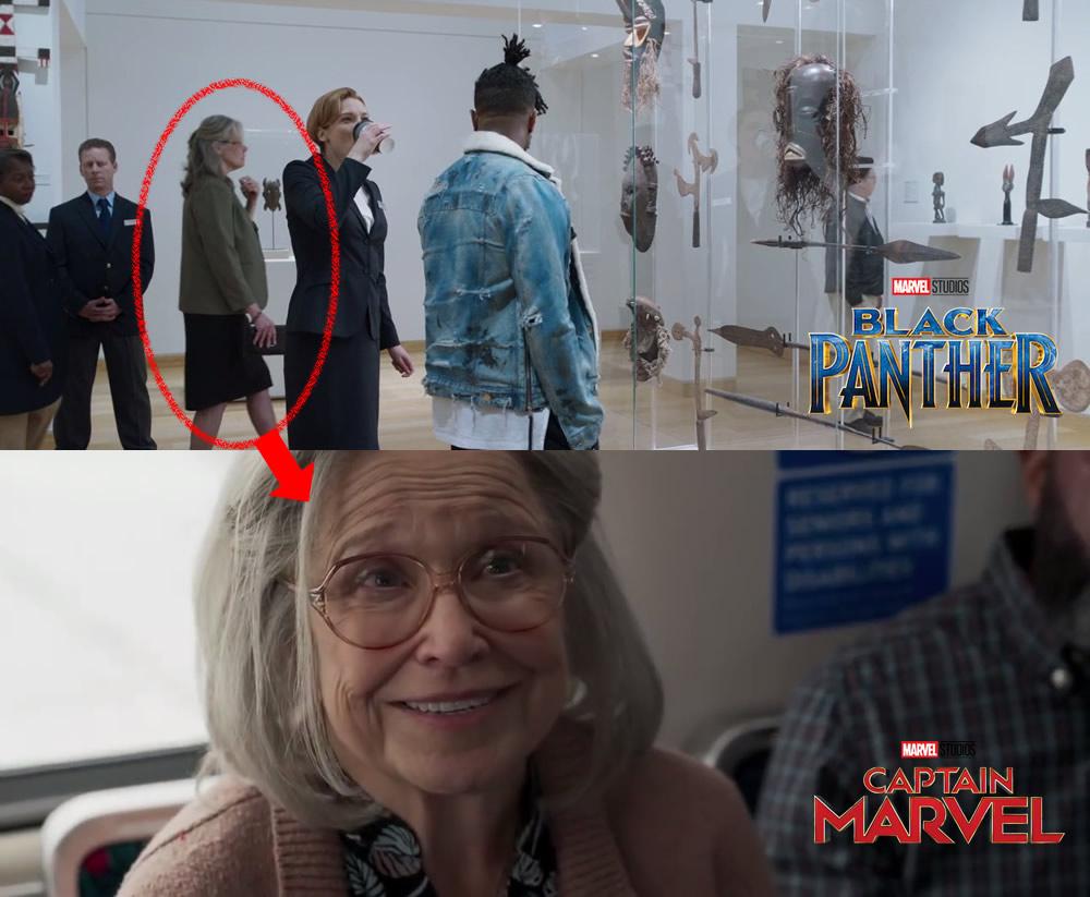 Invasão Secreta em trailer da Capitã Marvel e em Pantera Negra