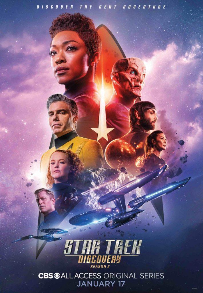 Novo poster da segunda temporada de Star Trek Discovery