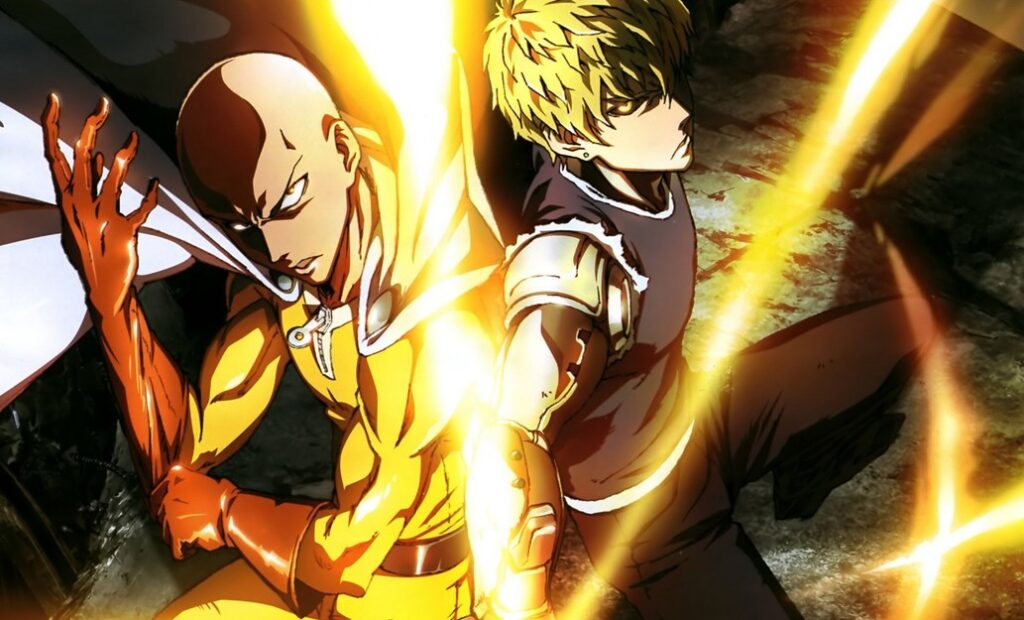 one punch man season2 1024x620 - Novo teaser da segunda temporada de One Punch Man apresenta os personagens principais.