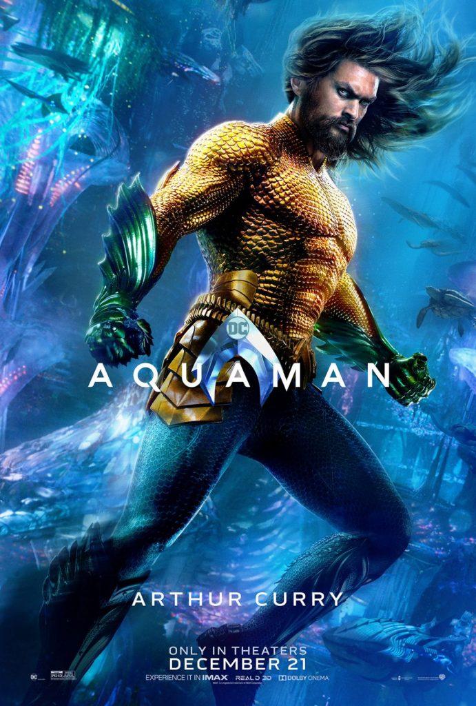 poster aquaman 691x1024 - Aquaman tem estreia grandiosa na China, e a Warner Bros. já está planejando uma sequência.
