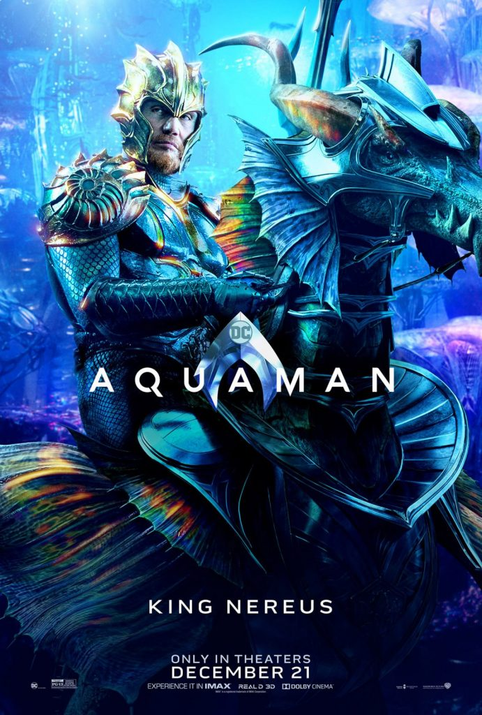 poster king nerius 691x1024 - Aquaman tem estreia grandiosa na China, e a Warner Bros. já está planejando uma sequência.
