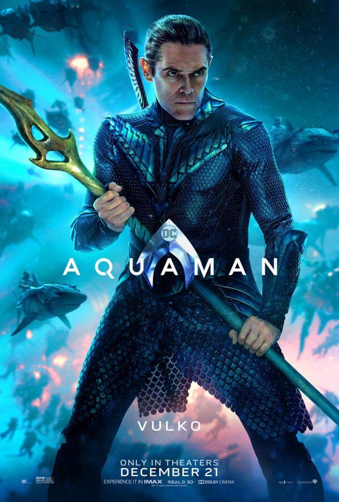 poster vulko 691x1024 - Aquaman tem estreia grandiosa na China, e a Warner Bros. já está planejando uma sequência.