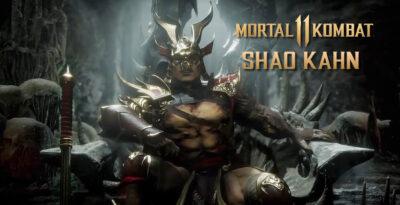 Mortal Kombat 11 – GameStop italiana vaza imagem de Shao Kahn com nova armadura