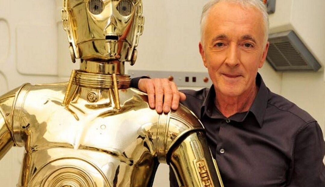 Star Wars IX: Anthony Daniels, o C3P0, se despede da franquia.