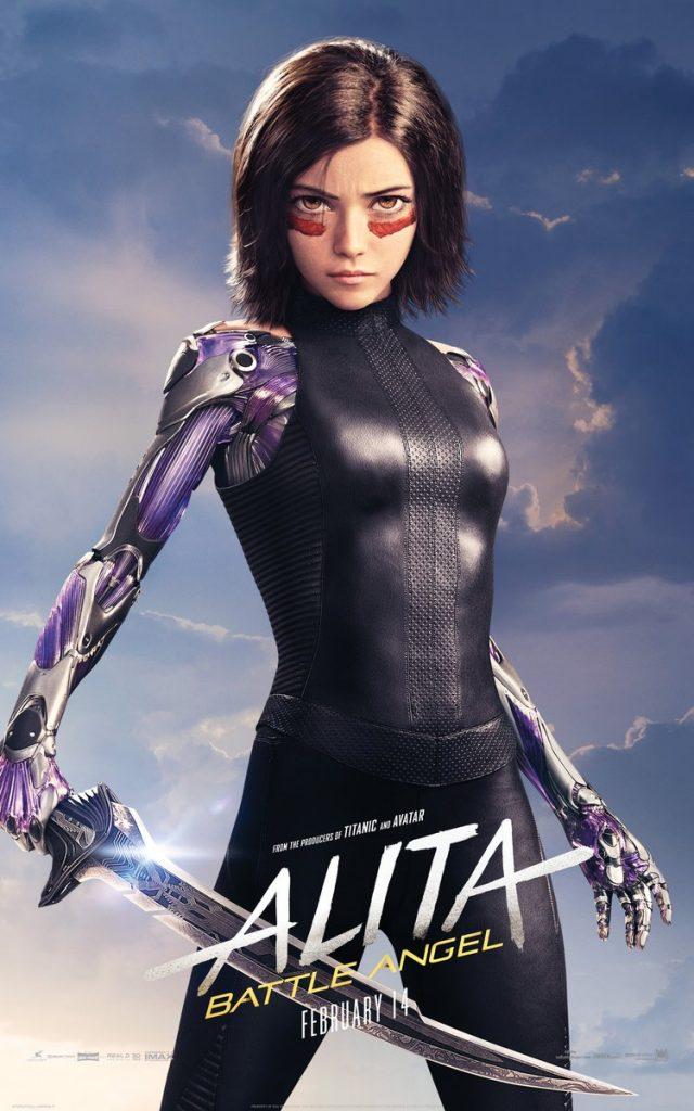 alita anjo de combate poster1 640x1024 - Alita - Anjo de Combate - Vídeo dos bastidores mostra como foi feito o filme