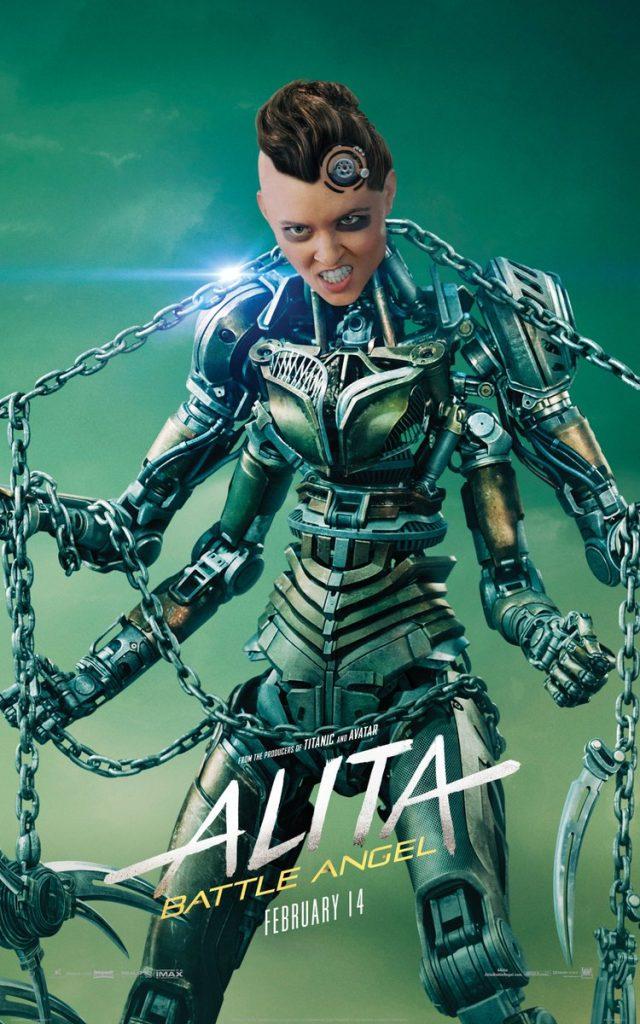 alita anjo de combate poster10 640x1024 - Alita - Anjo de Combate - Vídeo dos bastidores mostra como foi feito o filme