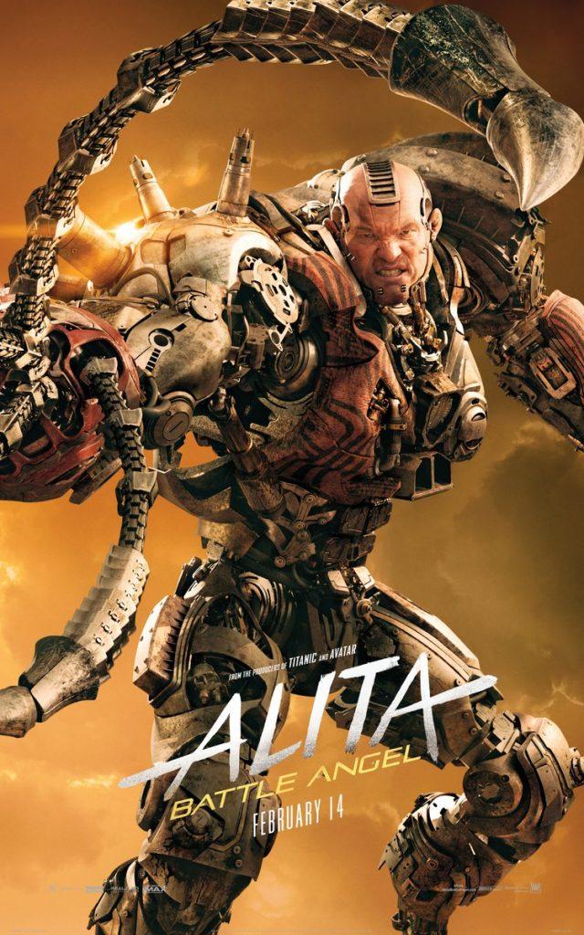 alita anjo de combate poster6 640x1024 - Alita - Anjo de Combate - Vídeo dos bastidores mostra como foi feito o filme