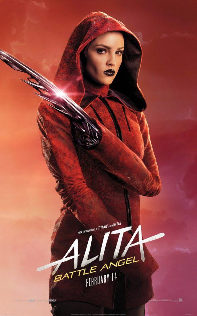 alita anjo de combate poster8 640x1024 - Alita - Anjo de Combate - Vídeo dos bastidores mostra como foi feito o filme