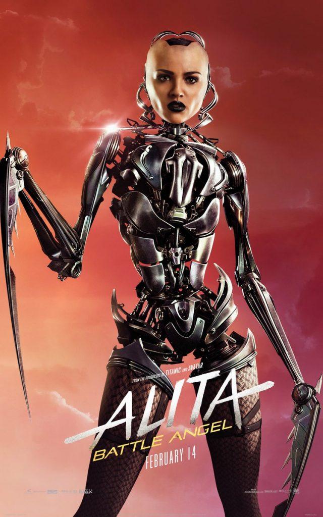 alita anjo de combate poster9 640x1024 - Alita - Anjo de Combate - Vídeo dos bastidores mostra como foi feito o filme