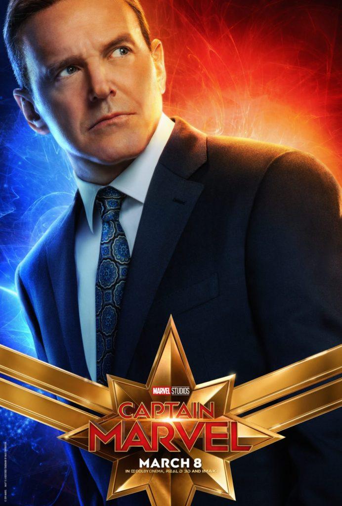 Capitã Marvel - Clarke Gregg como agente Coulson