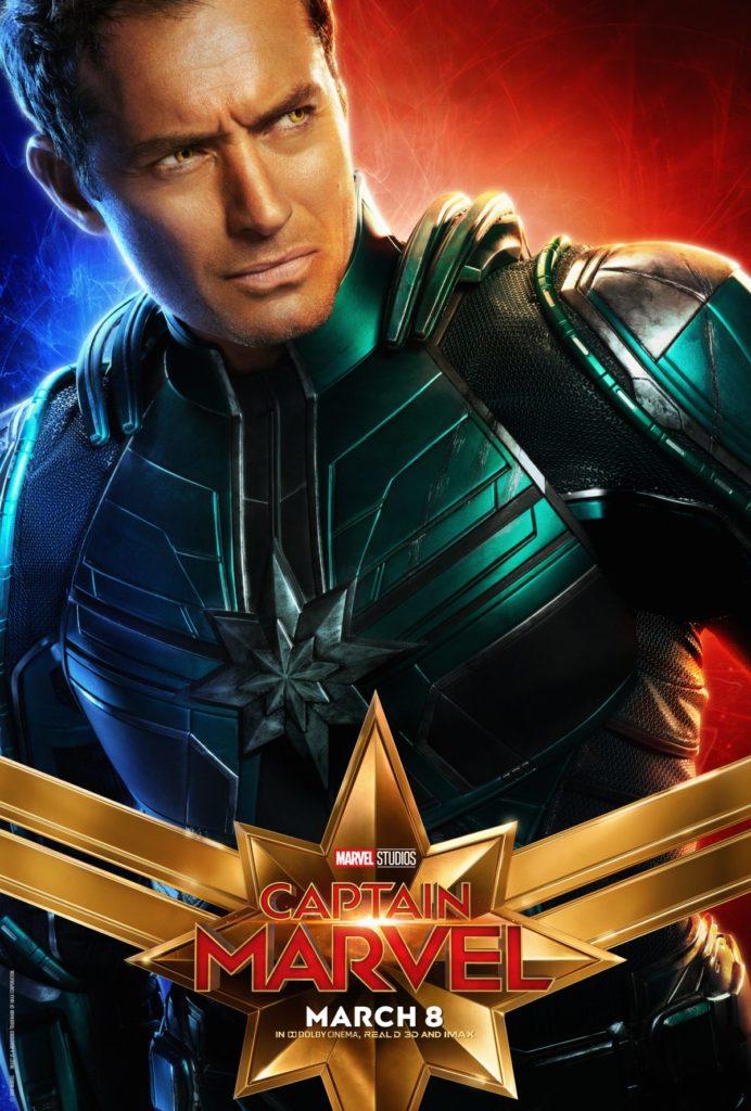 Capitã Marvel - Jude Law como Yon-Rogg