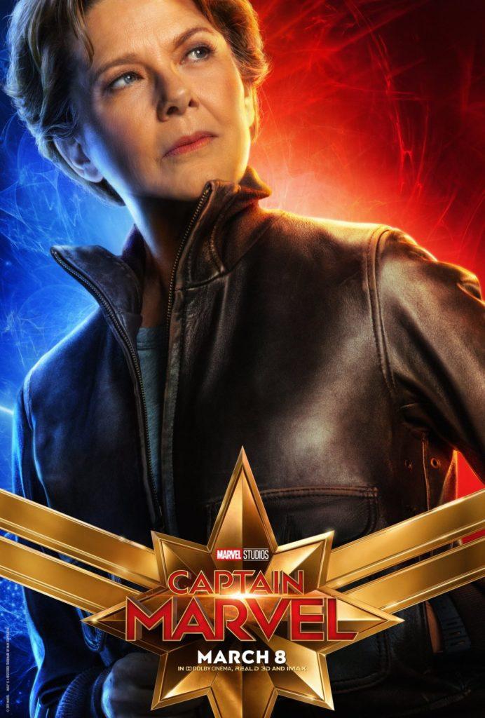 Capitã Marvel - Annette Bening em um papel misterioso