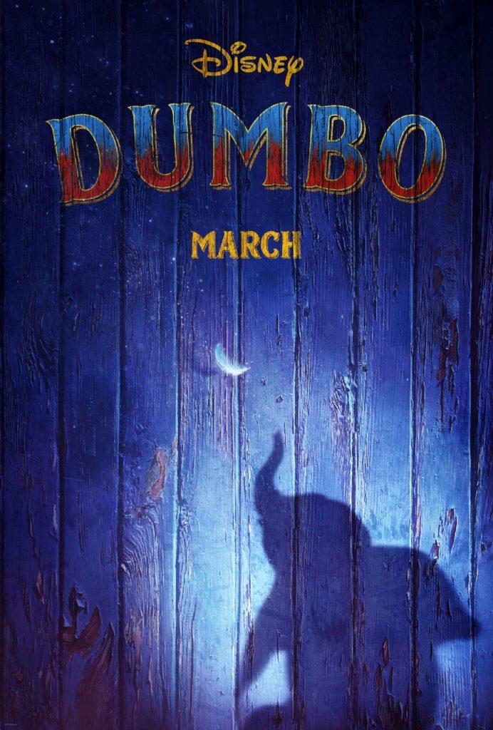 dumbo 2019 poster2 692x1024 - Lançado o Teaser de Ano Novo da Disney 'Dumbo', de Tim Burton