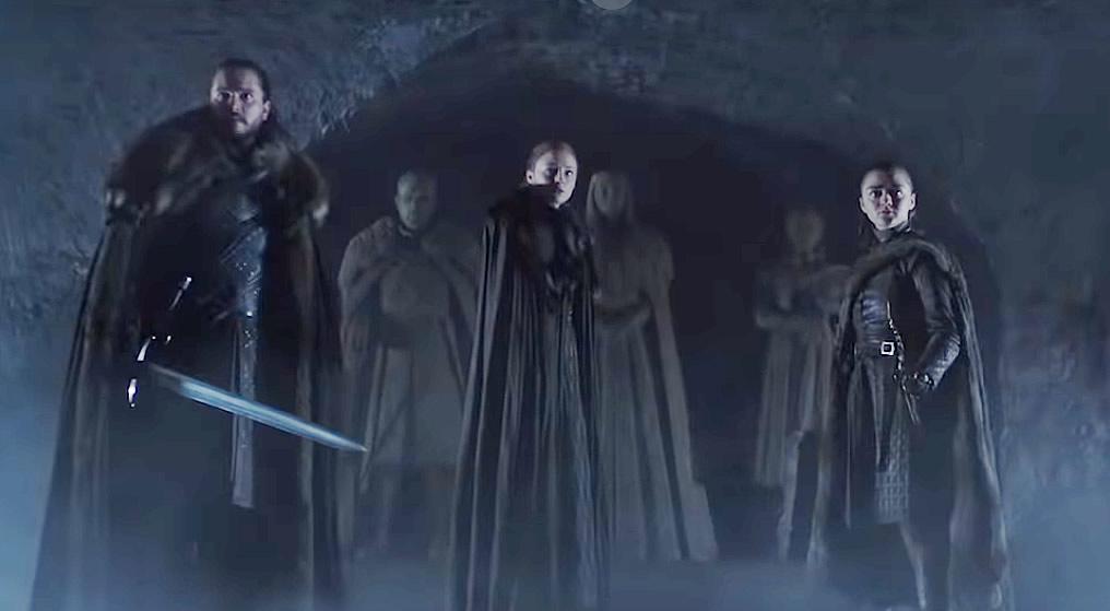 Game of Thrones 8ª Temporada - Crypts of Winterfel