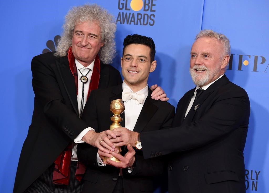 """""""Bohemian Rhapsody"""" ganhou o prêmio de melhor filme de drama e o ator Rami Malek venceu a categoria de melhor ator em filme de drama."""