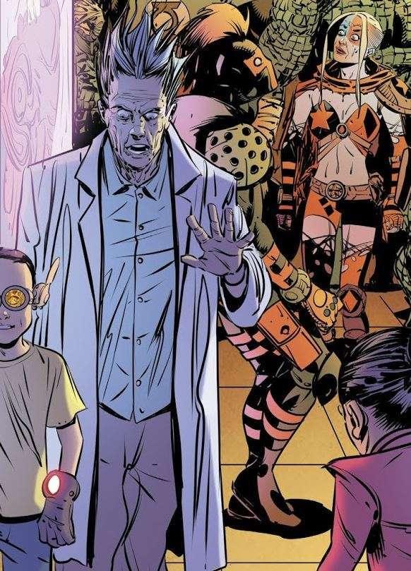 rick and morty old lady harley 1152218 - DC Comics faz homenagem a Stranger Things e Rick and Morty