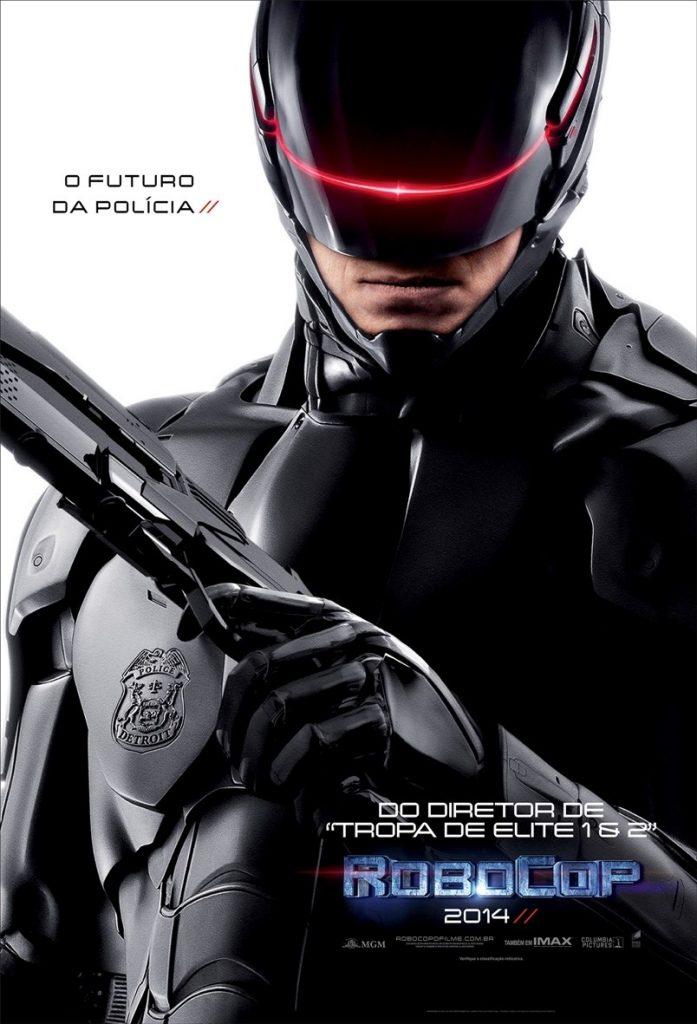 RoboCop teve um reboot em 2014 com Joel Kinnaman, Gary Oldman e Samuel L. Jackson
