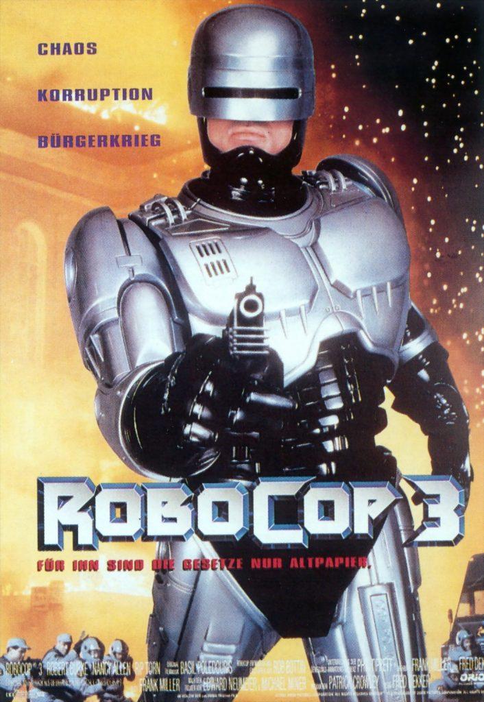 RoboCop 3, 1993, considerado pelo público e fãs como um fechamento decepcionante para trilogia, Weller foi substituido por Robert John Burke para o papel de RoboCop
