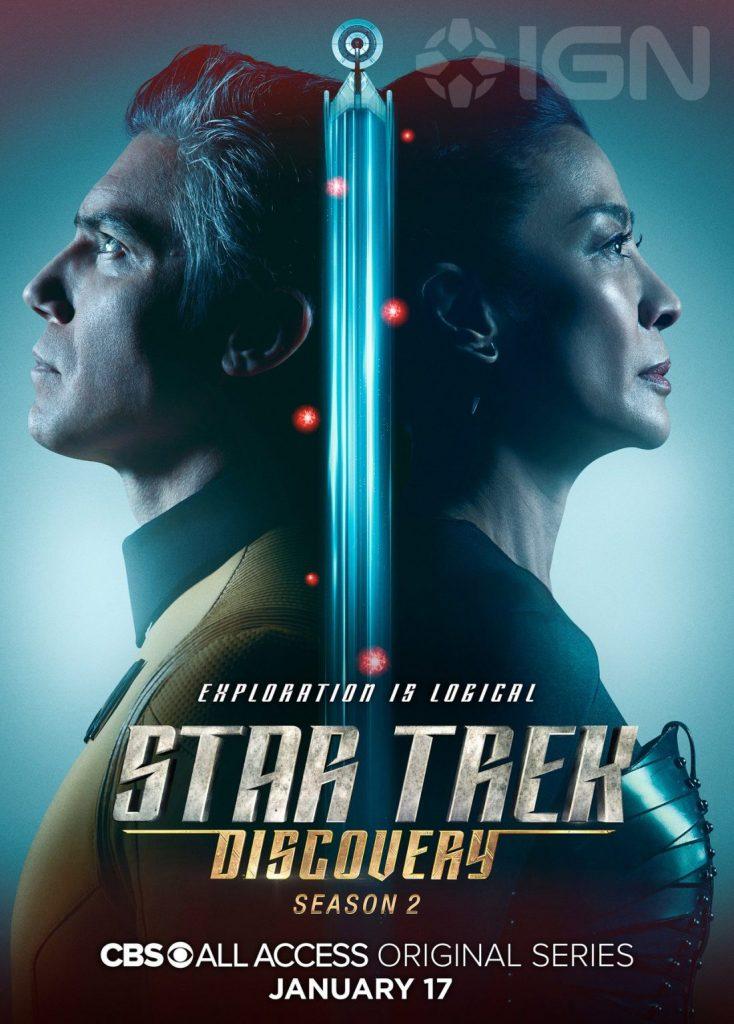 Star Trek Discovery - Pike e Georgiou