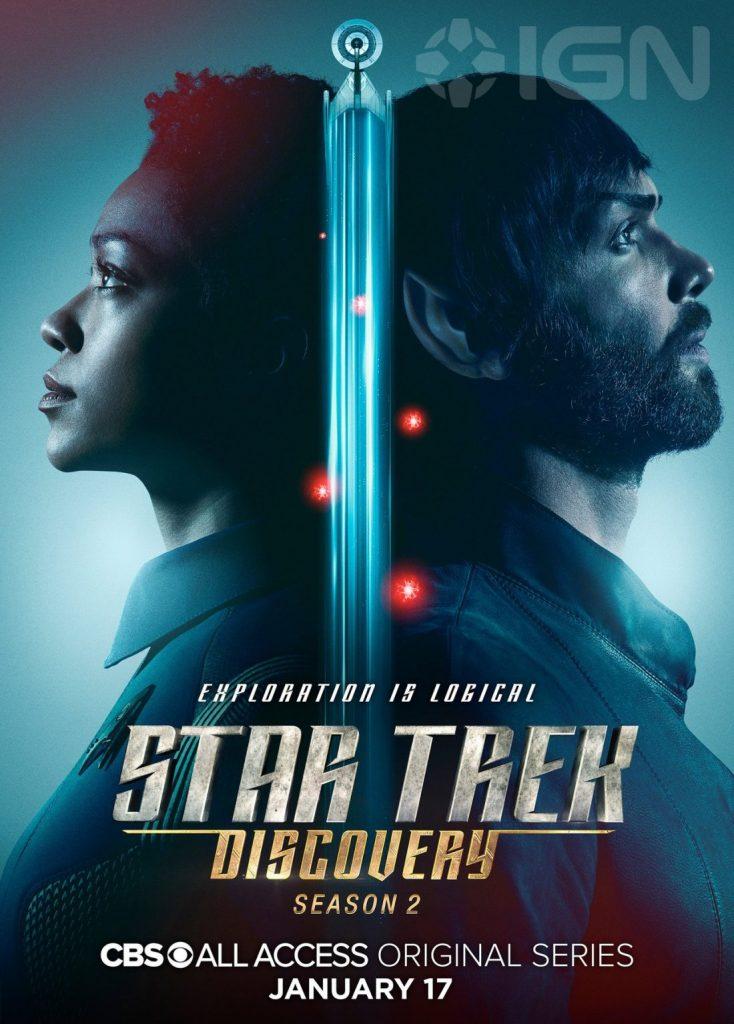 Star Trek Discovery - Burnham e Spock