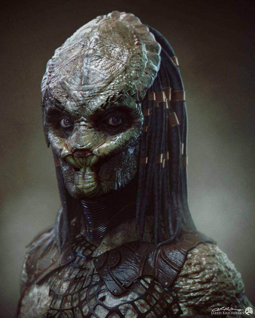 Jared Krichevsky - Híbrido Predator (Yautja) com DNA Humano