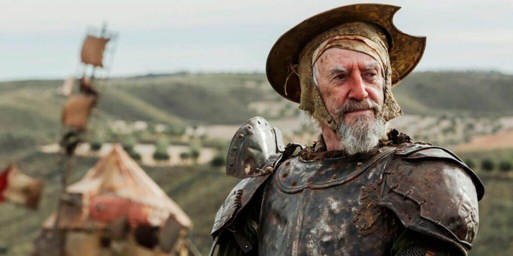 Jonathan Pryce em O Homem que matou Don Quixote