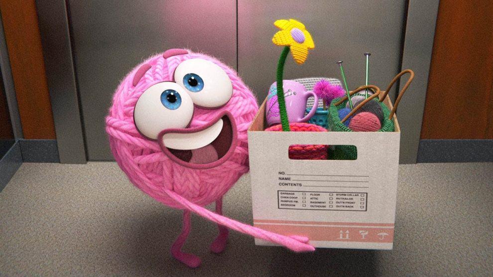 Purl, conta a história de uma bola de lã que consegue um emprego em uma start-up