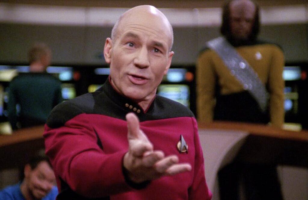 Patrick Stewart foi convencido a voltar ao universo Star Trek