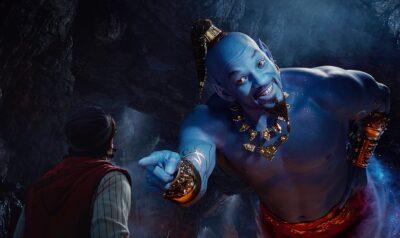 ALADDIN da Disney – Novo trailer mostra Will Smith de gênio azul