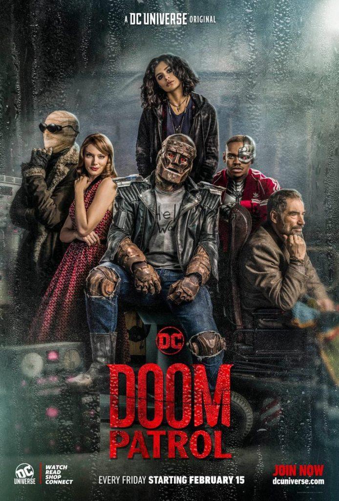 Patrulha do Destino - Doom Patrol - Novo Poster