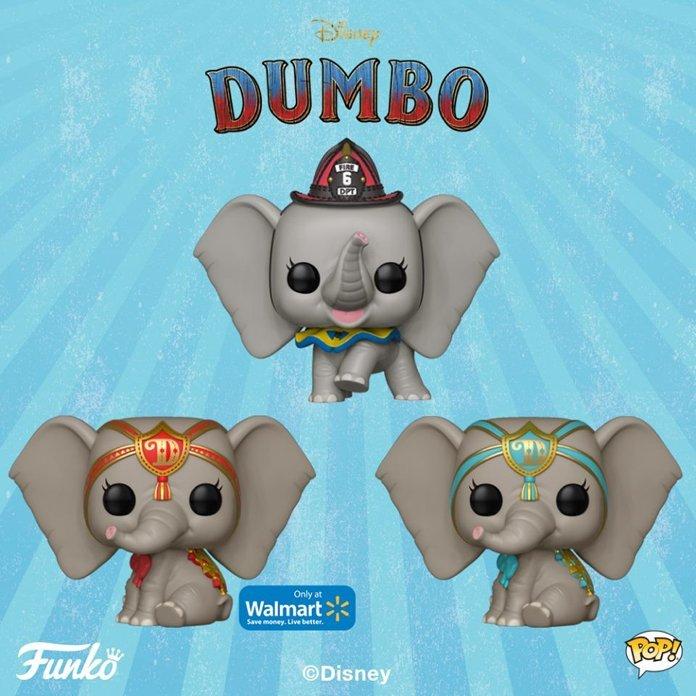Funko's adoráveis do Live-Action da Disney: Dumbo
