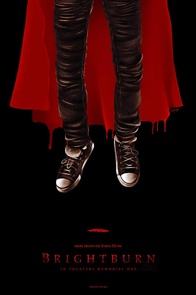 james gunn bright burn poster - BRIGHTBURN - Filme produzido por James Gun, conta a história de um Superman Maligno