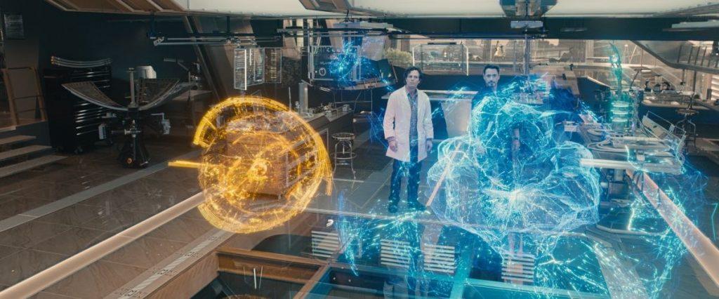 Interface holográfica de Jarvis e Ultron - Vingadores: Era de Ultron