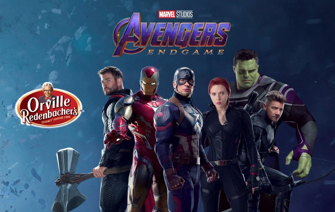 Vingadores: Ultimato - Imagem promo da empresa Orville Redenbacher mostra os novos trajes do personagens?