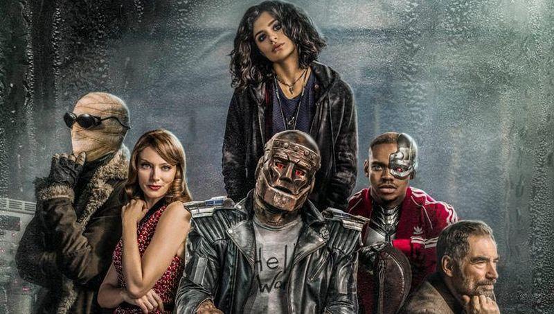 A DC Universe lançou um novo trailer de Patrulha do Destino