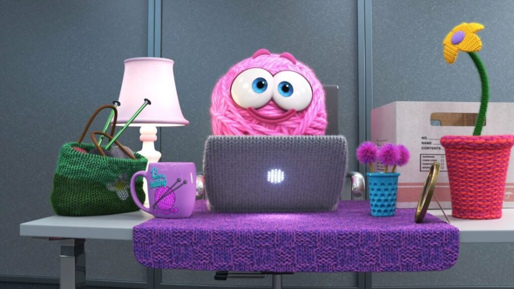 Filme SparkShorts animado da Pixar: PURL