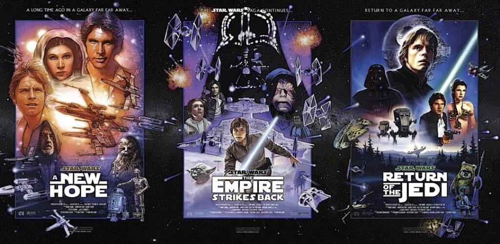 A nova trilogia proposta será separada da saga Skywalker