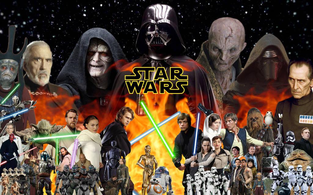 STAR WARS: ALWAYS – Topher Grace e o editor Jeff Yorkes montaram um impressionante trailer de 5 minutos com toda saga de  STAR WARS
