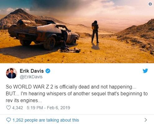 WORLD WAR Z 2 está oficialmente morto e não está acontecendo