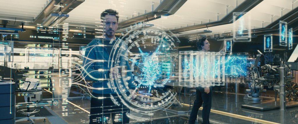 Tony Stark e Banner na criação de Ultron