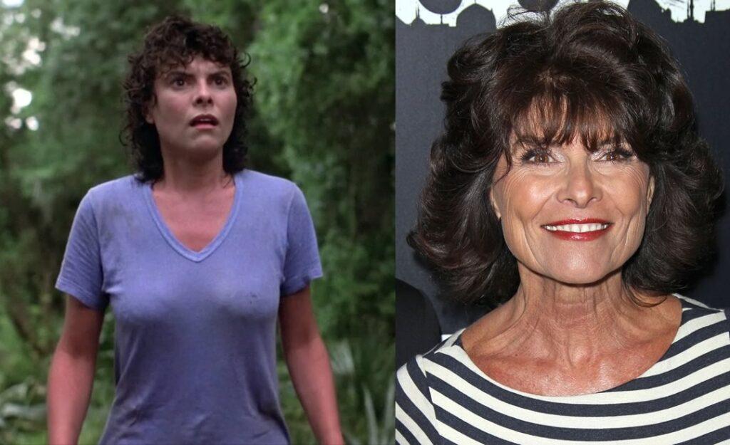 Adrienne Barbeau, a protagonista feminina da adaptação cinematográfica de Wes Craven em 1982 do Monstro do Pântano - Swamp Thing