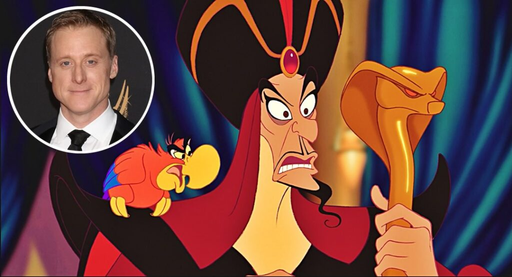 Alan Tudyk será a voz de Iago o papagaio de Jafar em Aladdin